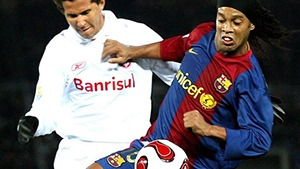barcelona vs internacional