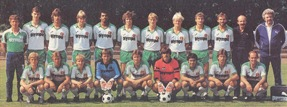 Equipa 2ª Classificada da Bundesliga 1983