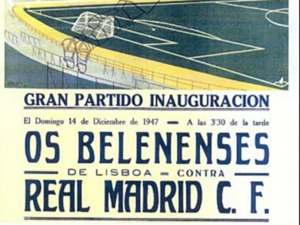 belenenses vs real cartaz