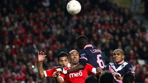 Luisão Garay Benfica Bordéus