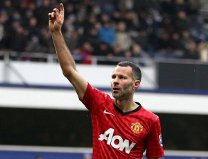 Giggs 1000 Manchester United
