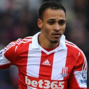 Stoke City's Peter Odemwingie.
