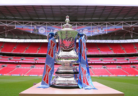 Manchester City v Wigan Athletic - FA Cup Final...LONDON, ENGLAND - MAY 11:  The trophy on display ahead of the FA Cup with Budweiser Final match between Manchester City and Wigan Athletic at Wembley Stadium on May 11, 2013 in London, England.  (Photo by Michael Regan - The FA/The FA via Getty Images)