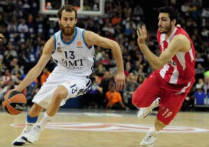 Sergio Rodriguez Real Madrid