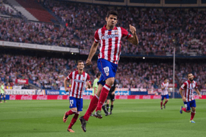 Diego Costa no Atletico Madrid
