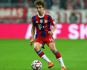 Gianluca Gaudino no Bayern Munique