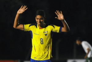 José Cevallos Jr. na Selecção do Equador