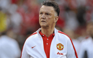 Louis van Gaal no Manchester United