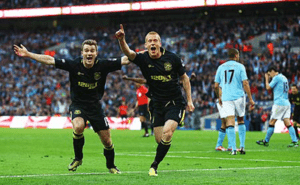 Manchester City 0 - 1 Wigan