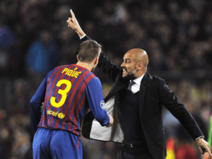 Pep Guardiola no FC Barcelona
