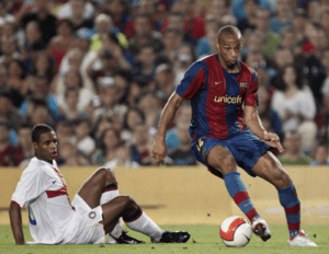 Thierry Henry no FC Barcelona