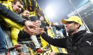 Klopp and fans