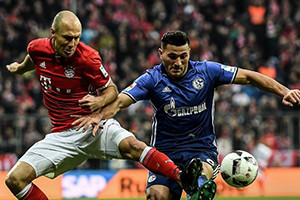 Schalke consegue empate na Allianz Arena